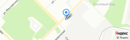 Институт теплофизики УрО РАН на карте Екатеринбурга