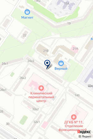 Знайка на карте Екатеринбурга