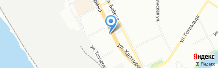 Котопульт на карте Екатеринбурга