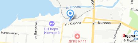 ПолиПластСервис на карте Екатеринбурга