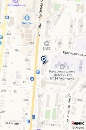 МАГАЗИН ЗООМИР на карте Кыштыма