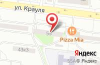 Схема проезда до компании Творческий Союз Художников Урала в Екатеринбурге