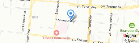 МАСТЕРиЯ на карте Екатеринбурга