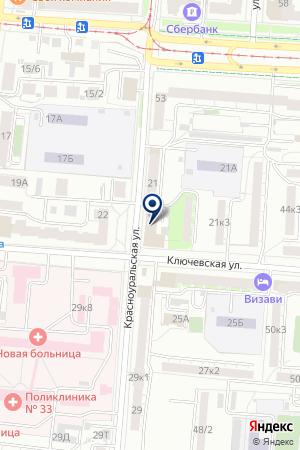 Pro-Fit на карте Екатеринбурга