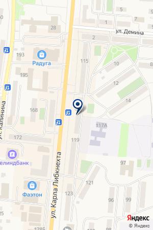 ОТДЕЛЕНИЕ ПОЧТОВОЙ СВЯЗИ КЫШТЫМ 1 на карте Кыштыма