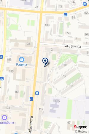 МАГАЗИН АВТОЗАПЧАСТИ на карте Кыштыма