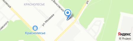 Институт геофизики УрО РАН на карте Екатеринбурга