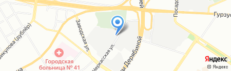 Альфа 1 на карте Екатеринбурга