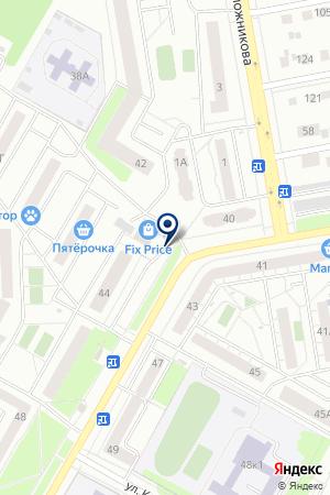 Карамель на карте Екатеринбурга