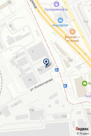 ВАД на карте Екатеринбурга