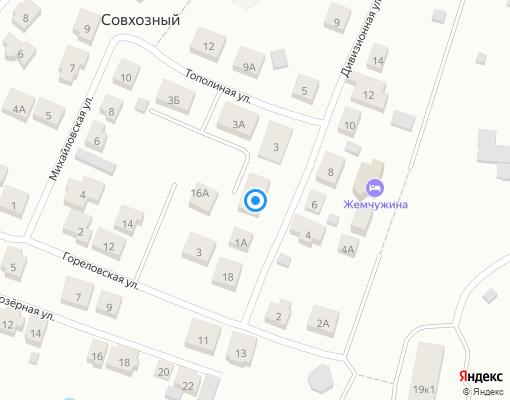 Товарищество собственников жилья «Дивизионная 1» на карте Екатеринбурга