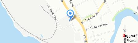 Промтехбезопасность на карте Екатеринбурга