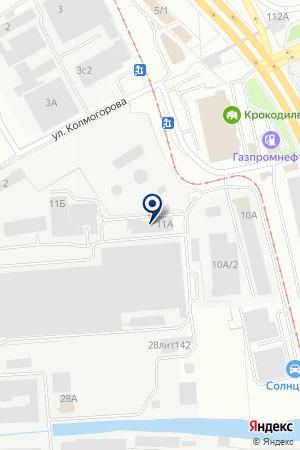 Нортекс на карте Екатеринбурга