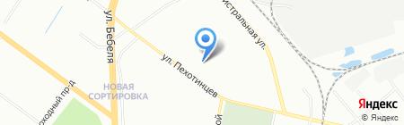 Обнова на карте Екатеринбурга