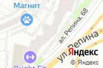 Схема проезда до компании Роторика-Урал в Екатеринбурге