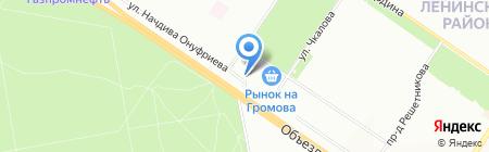 Катер на карте Екатеринбурга