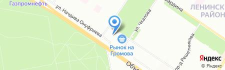 ГМГ на карте Екатеринбурга