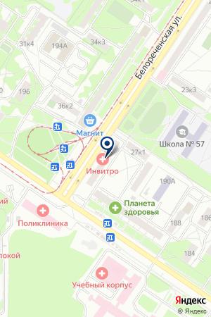 САЛОН СОТОВОЙ СВЯЗИ ЕВРОСЕТЬ на карте Екатеринбурга