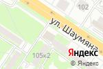 Схема проезда до компании Новая больница в Екатеринбурге