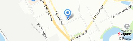 Activ66 на карте Екатеринбурга