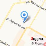 КБ Кольцо Урала на карте Верхней Пышмы