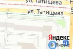Схема проезда до компании МАКСЭЛЕКТРО в Екатеринбурге