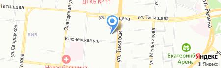 Екб Климат на карте Екатеринбурга