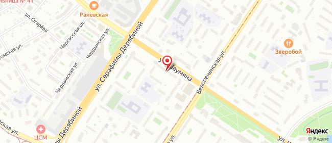 Карта расположения пункта доставки 220 вольт в городе Екатеринбург