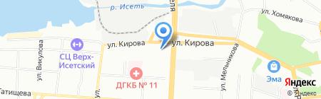 Прачка66.ру на карте Екатеринбурга