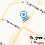Центральная районная аптека №57 на карте Верхней Пышмы