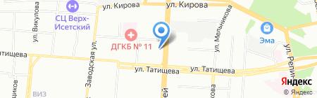 STIHL-VIKING на карте Екатеринбурга
