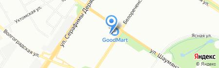 Центр Уникальных Товаров на карте Екатеринбурга