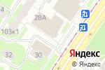 Схема проезда до компании Белая кошка в Екатеринбурге