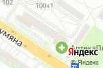Схема проезда до компании Минимакс в Екатеринбурге