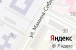 Схема проезда до компании Булошная в Верхней Пышме