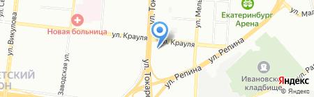 Нирвана на карте Екатеринбурга