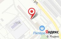 Схема проезда до компании Art & Sound в Екатеринбурге