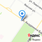 Орхидея на карте Екатеринбурга