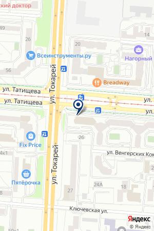 ИФМ-электроник на карте Екатеринбурга