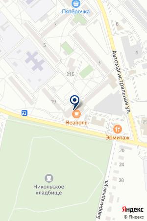 Athletica на карте Екатеринбурга