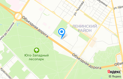 Местоположение на карте пункта техосмотра по адресу г Екатеринбург, ул Начдива Онуфриева, стр 43