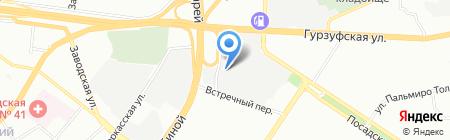 Авто-Лидер-Запад на карте Екатеринбурга