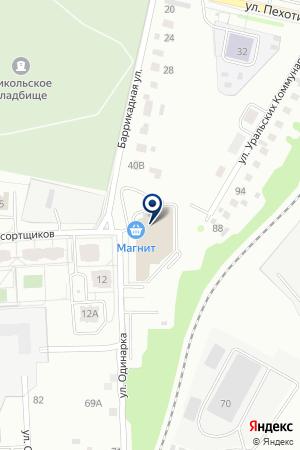 АТЛ Инжиниринг на карте Екатеринбурга