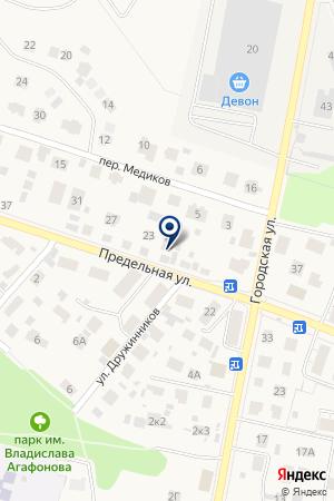 Шиномонтажная мастерская на Предельной на карте Екатеринбурга