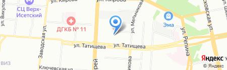АвтоХит на карте Екатеринбурга