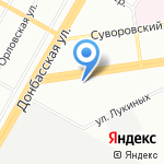 Журавушка на карте Екатеринбурга