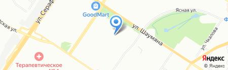Айсберг на карте Екатеринбурга