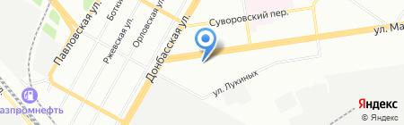 Мезартим Трэвэл на карте Екатеринбурга