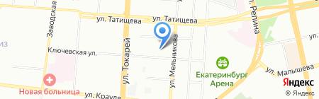 Монетный аукцион на карте Екатеринбурга