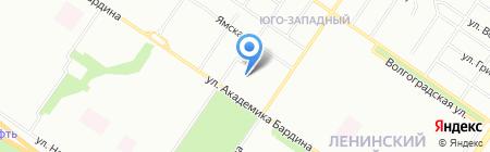 Эфир-ТВ плюс на карте Екатеринбурга
